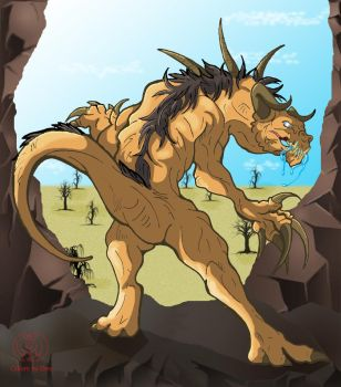 Deathclaw Canyon by DestroyahDes