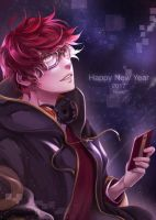Seven :: New Year Mystic Messenger by NunuJS