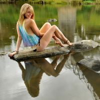 Talya - river reflection 1 by wildplaces