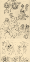 Sort of a big sketchdump by CurlyPoCkY