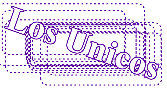 Texto PNG Los Unicos by Lukuu
