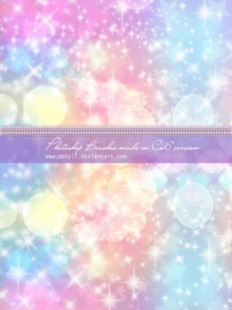 Coby Sparkles Photoshop Brushes by Coby17