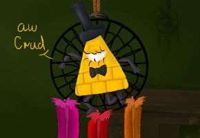 Bill cipher stuck by paristhedragon