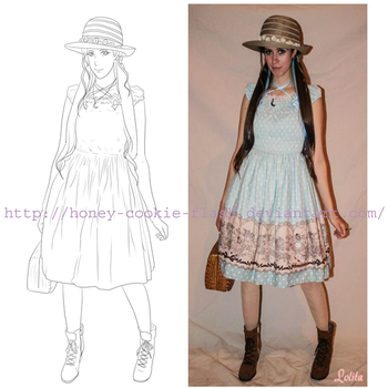country lolita emilia by honey-cookie-flash