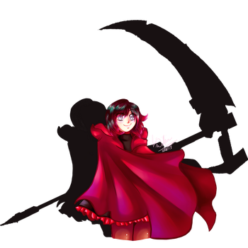 Ruby the Grimm Reaper by AtsusaKaneytza