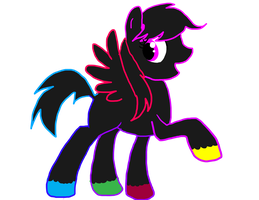 neon Pegasus by sweetchiomlp