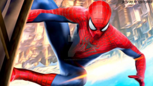 The Amazing Spider-Man 2 - Painting by ilhatria007