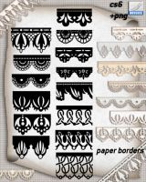 Paper Borders 2014 by roula33