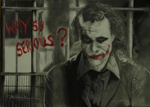 Why so serious? by thaiskatsumi