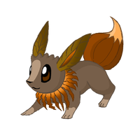 Four-Seasons-of-Eevee: Autumn by EleanorTopsie