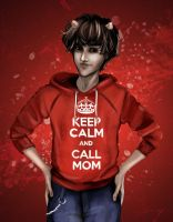 Keep Calm And Call Your Mother by Zankat91