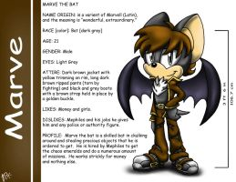 .:REQUEST:. Marve the Bat by SonicFF