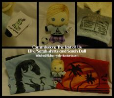 The Last of Us: Ellie and Sarah Bundle by StitchedAlchemy