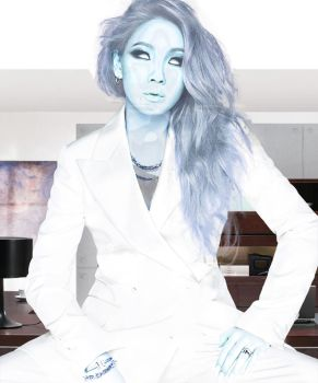Lee Chaerin as Emma Frost by someguywithalaptop