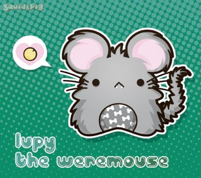Lupy - The WereMouse by SquidPig