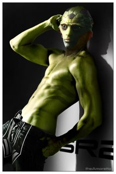 Thane Krios by theAmoretto