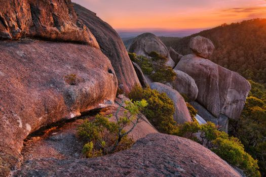 Rocky Outcrop by DrewHopper