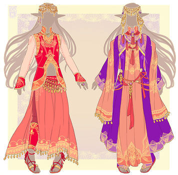 :Comm: outfits for Whelms by MMtheMayo