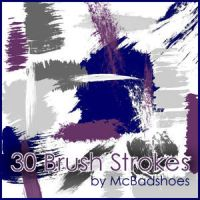 Brush Strokes by mcbadshoes