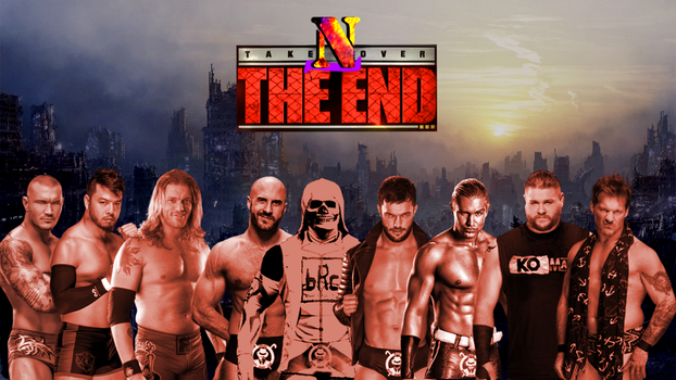 NCWF Takeover The END Poster by AlphaWWE
