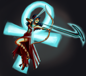 Neith - Character Design by ForeverMuffin