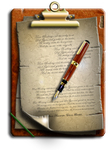Steampunk Clipboard Icon by yereverluvinuncleber