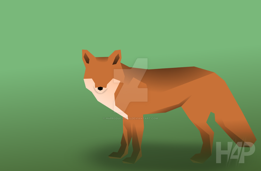 Vectorial Fox Wallpaper by H4Productions