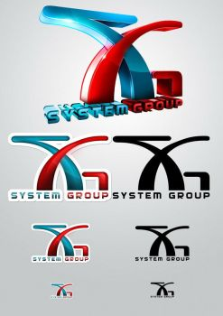 SystemGroup Logo set2 by lordofpersia