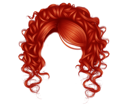 Pretty Curls Red by hellonlegs