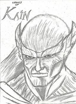 Kain drawing by Chancey289