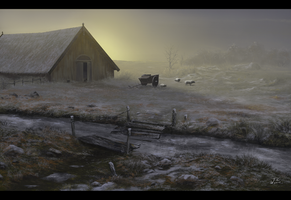 Environment study 07 - The Hall by woutart