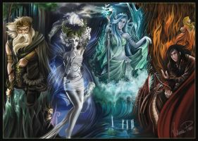 The Elementals by valeriapaes