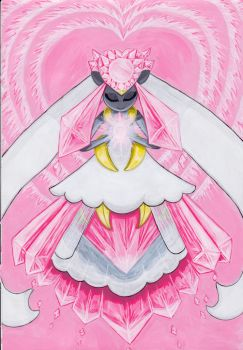 Mega Diancie: True power comes from within by Angel-gotic