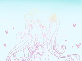 Yamio Lineart : Lilika lineart by ginaheart chan on deviantart