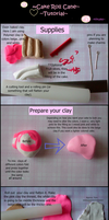 Cake Roll Cane Tutorial by kikums