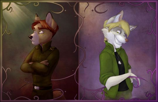 Senior Port - Kaid and Theore by autogatos