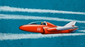 Red Jet by drDiman