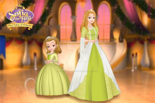 Princess Amber (Sofia the First) by jackoverlandfrost315