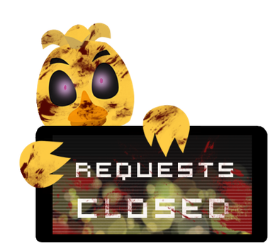 Chica Requests Closed Stamp by Ink-cartoon