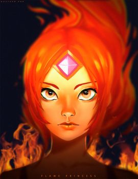 Flame Princess by GuD0c