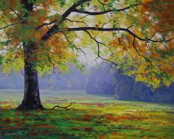 Tree in the Medow by artsaus