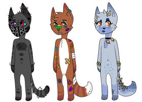 anthro cat adopts *CLOSED by hedgeadopts