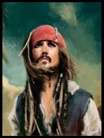Captain Jack Sparrow by nixuboy