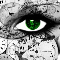 Green Eye in Time .. by SevdaCicegi