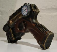 Steampunk theater prop pistol3 by Hypercats
