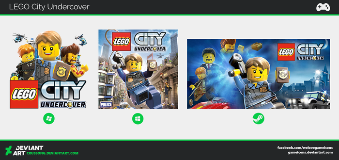 LEGO City Undercover - Icon by Crussong