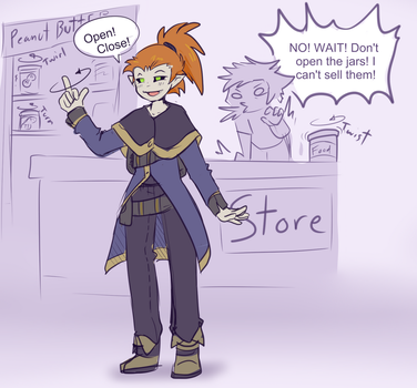 Kyris and His Magnificent Haggling Skills by Uluri
