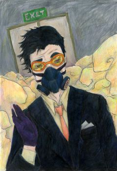 Gas mask 2 by silver-phish