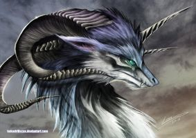Wolf Dragon by Dragolisco