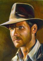 Indiana Jones by charles-hall